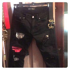Size 29 Amiri Jeans